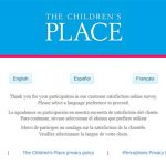 www.placesurvey.com - children's place customer satisfaction survey