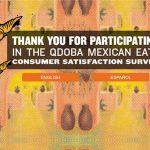 www.qdobasurvey.com - qdoba mexican grill guest satisfaction survey