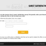 www.famousdavesfeedback.com - famous dave's guest satisfaction survey