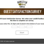 www.bonefishexperience.com - bonefish grill guest satisfaction survey