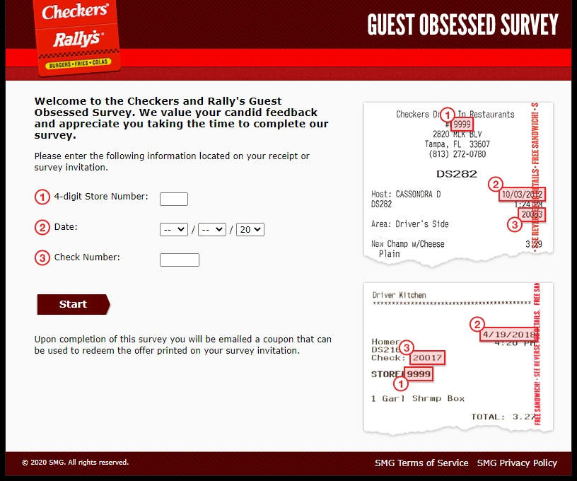 www.guestobsessed.com - checkers and rally's guest obsessed survey