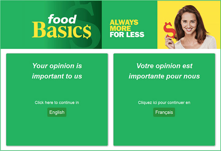 www.Foodbasicsfeedback.com - Take Food Basics Survey to Win $1,000 in Free Groceries!