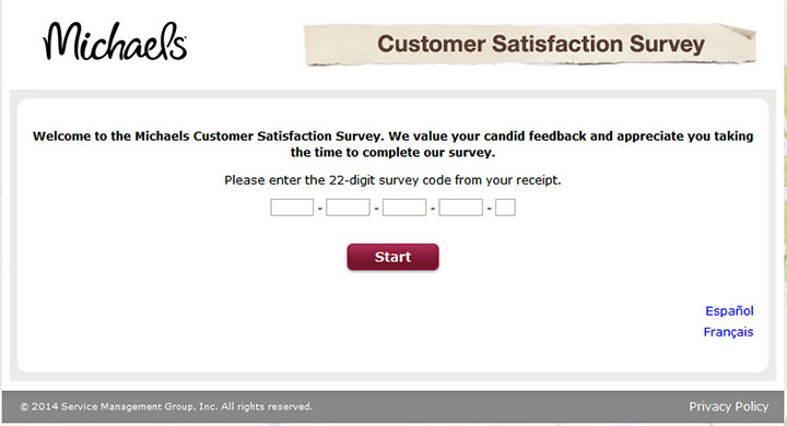 www.mymichaelsvisit.com - michaels customer satisfaction survey