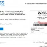 www.rosslistens.com - ross customer satisfaction survey
