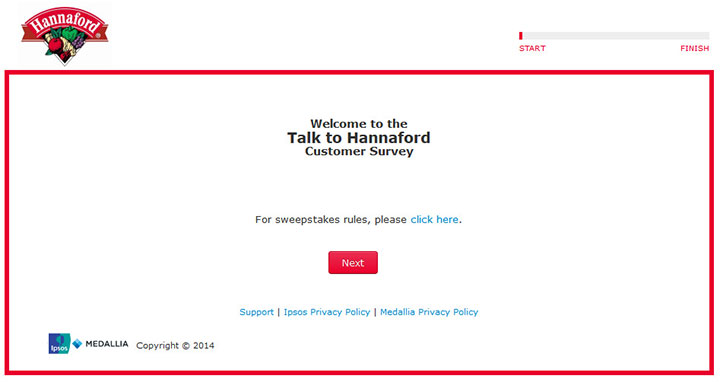 www.talktohannaford.com - talk to hannaford customer survey