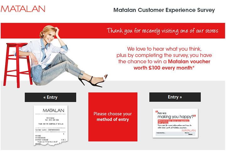 www.Matalan-survey.co.uk - Take Matalan Survey