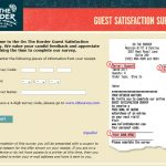On The Border Guest Satisfaction Survey | www.Tellontheborder.com