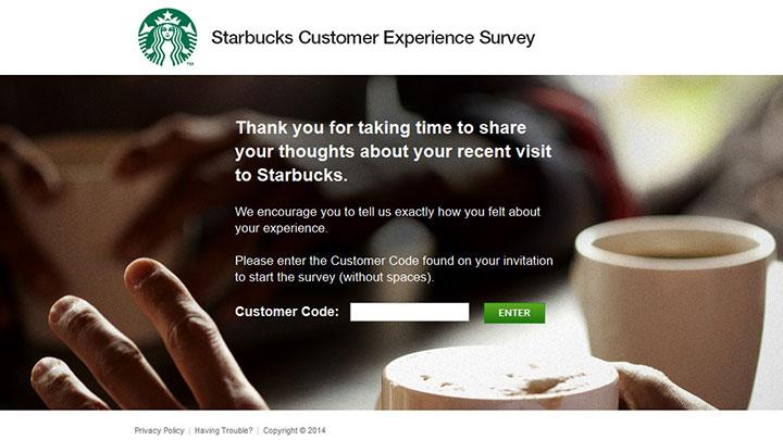 Mystarbucksvisit | Starbucks Survey at www.Mystarbucksvisit.com