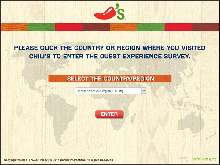 www.go-chilis.com - Chilli's Grill & Bar Guest Survey - Avail Exciting $1,000 Reward