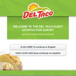 Myopinion.deltaco.com - Get $1 OFF a $3 Purchase | Del Taco Survey