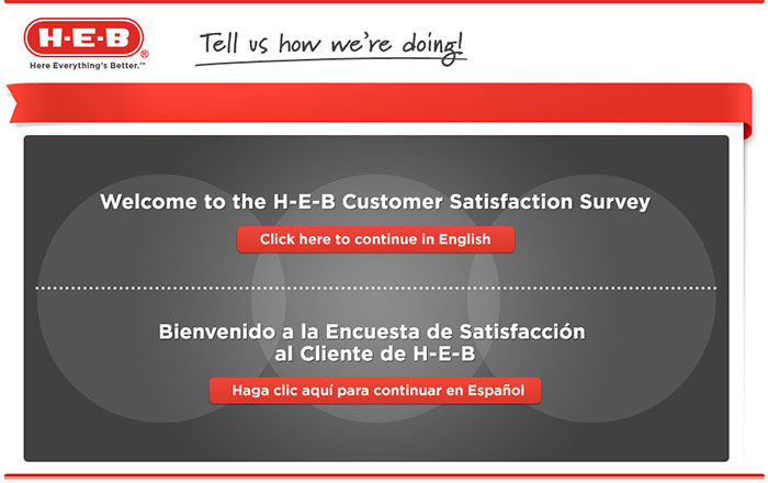 Heb.com/survey - Take H-E-B Survey to Win 1 of 50 $100 Gift Card!
