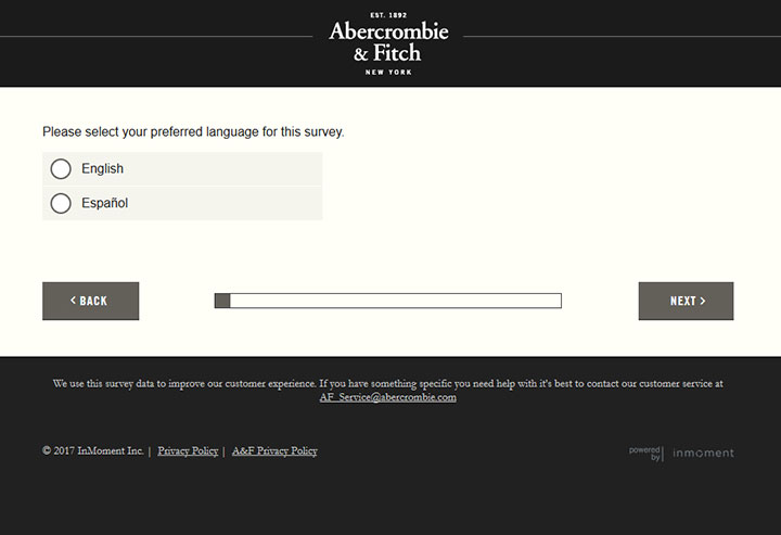 www.tellanf.com – Take Abercrombie & Fitch Survey to Get $10 Off Coupon