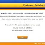 www.ChurchsChickensurvey.com - Take Church's Chicken Survey