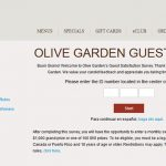 Olive Garden's Survey At www.OliveGardenSurvey.com Guide