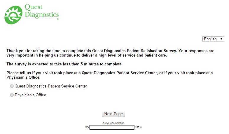 www.questdiagnosticsfeedback.com - Win Free Offers For Patients at questdiagnosticsfeedback Survey