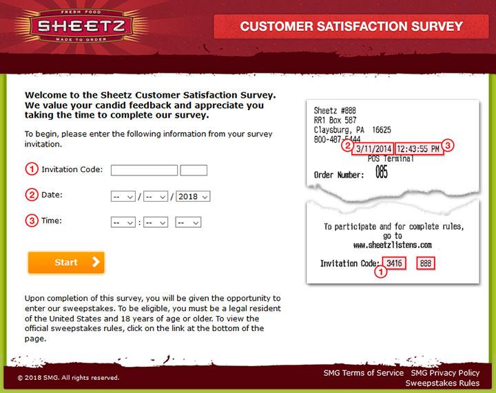 www.rufeelinit.com - Take Sheetz Survey