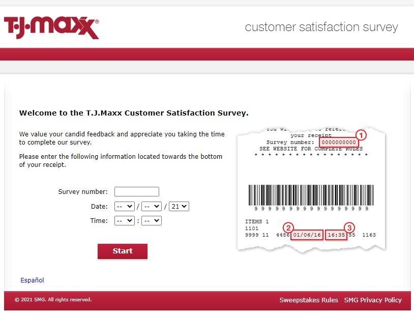 TJMaxxFeedback — Take Official T.J. Maxx® Survey — Win $500