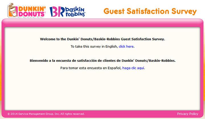 www.TellDunkinBaskin.com - Take Dunkin' Donuts/Baskin-Robbins Survey to Get a Validation Code!