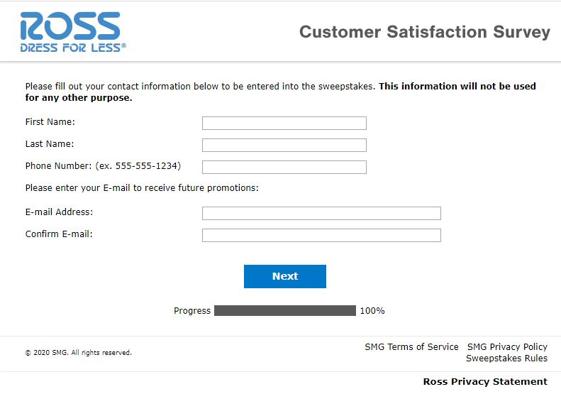 www.tellross.com - Win $500 Gift Card at tellross Survey