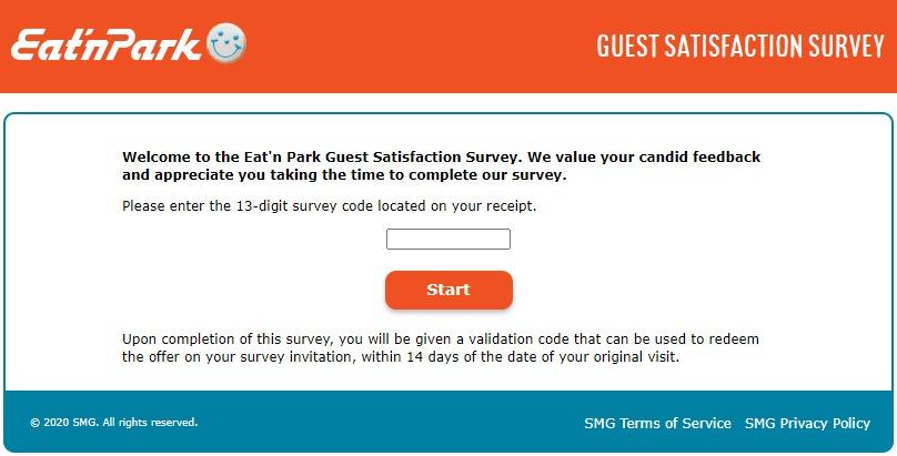 TellEnP.com – Eat'n Park Survey