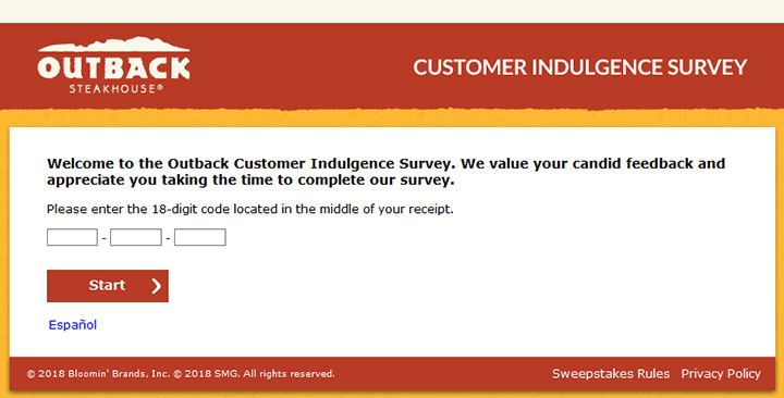 www.Telloutback.com – Outback Steakhouse Survey – Win $1000 Cash