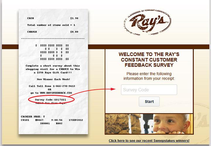 www.Raysfeedback.com - Take Ray's Constant Survey