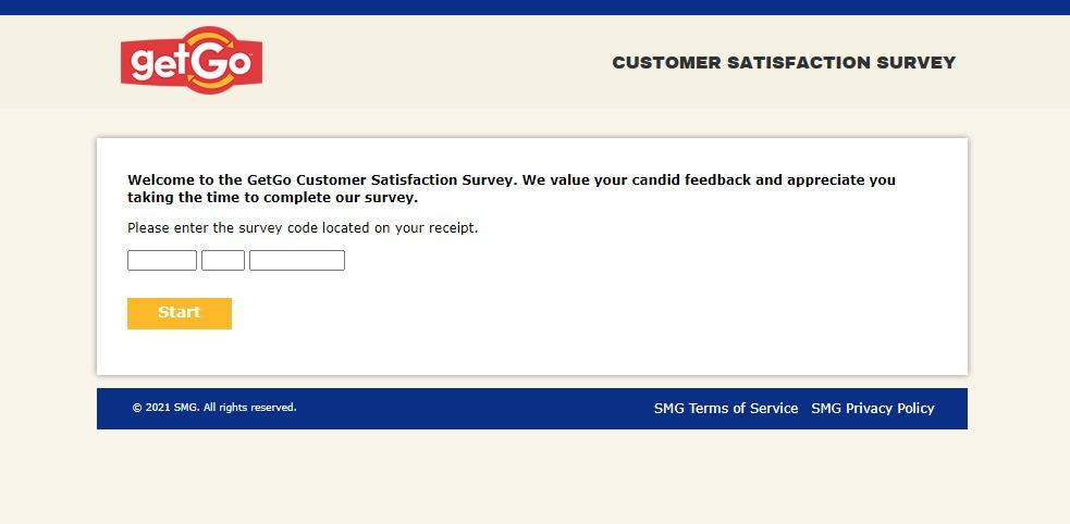 GetGo Customer Satisfaction Survey At www.GetGoListens.com