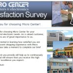 www.Microcentersurveys.com - Micro Center Survey