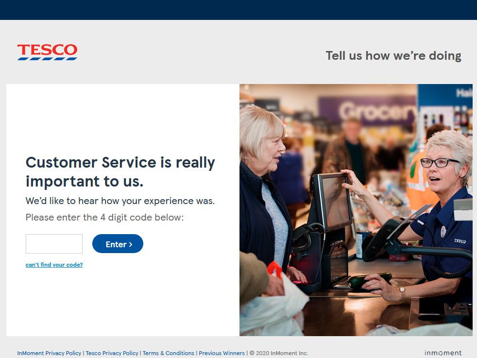 TESCO Guest Satisfaction Survey - Www.tescoviews.com